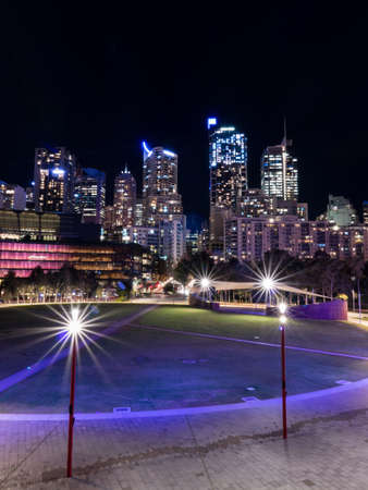 A night view of Sydney CBD area seen from Darling Quarter