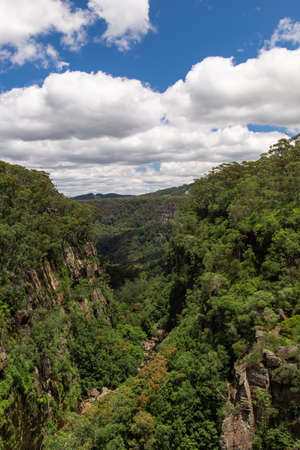 Kangaroo Valley, NSW, view during the day time.