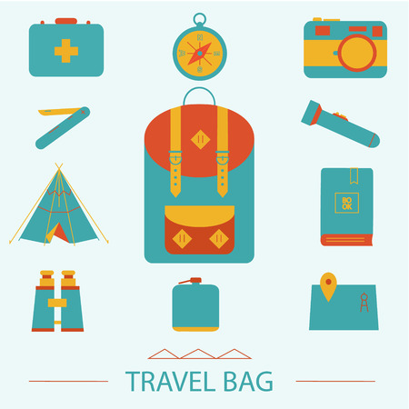 voyage: Travel and voyage icons set