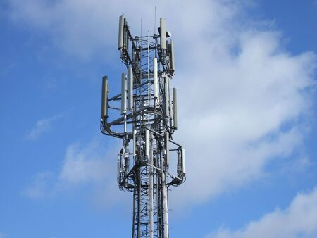 A Mobile Phone Communications Cell Transmission Mast.