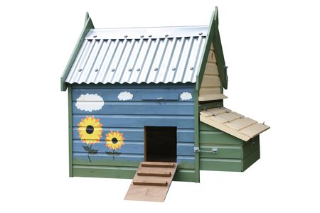 A Wooden House Made for Ducks or Chickens. Stock Photo - 6828341