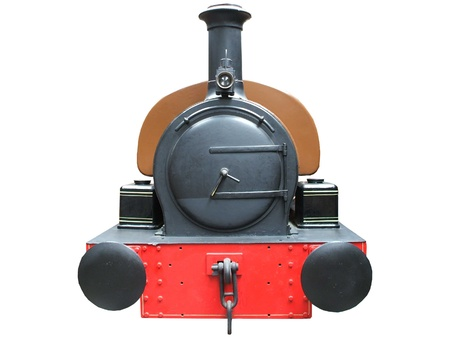 The Front of a Traditional Steam Train. Stock Photo - 8447829