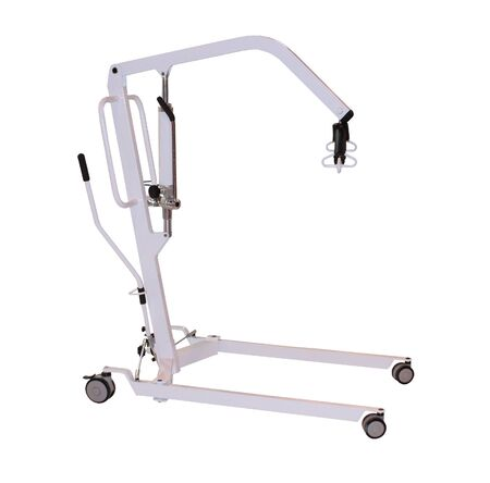 A Disability Hoist for Lifting a Person.