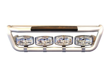 A Set of Powerful Lorry Truck Lights. Stock Photo - 9412037