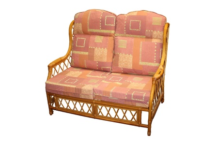 cane sofa: A Relaxing Cane Sofa for a Conservatory.