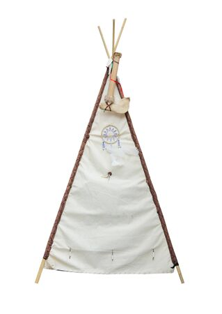 A Traditional South American Style Teepee Tent.