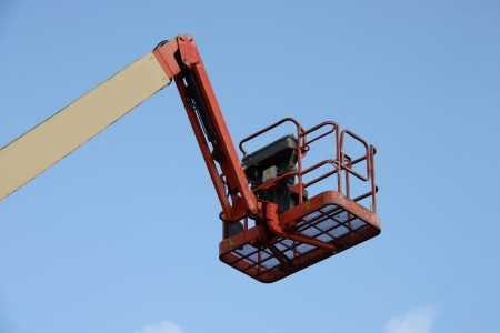 picker: The Arm and Cage of a Cherry Picker Lift