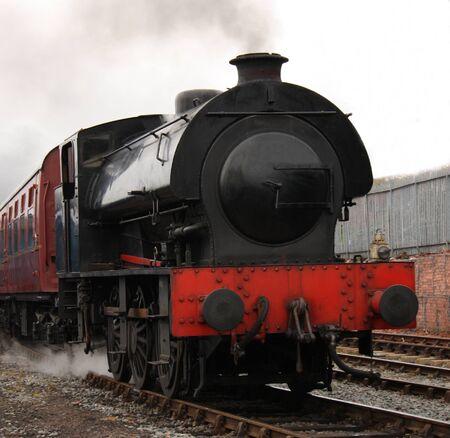 A Vintage Saddleback Coal Fired Steam Engine. Stock Photo - 14655093
