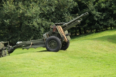 world war two: A World War Two Vintage Military Field Gun