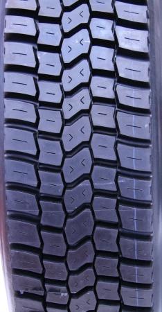 The Tread on a Heavy Duty Vehicle Wheel Tyre Stock Photo - 20434237