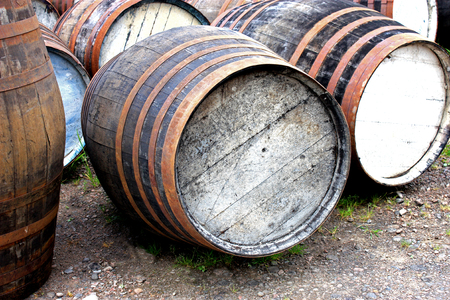 Storing Empty Oak Barrels for Future Whisky Maturing  photo
