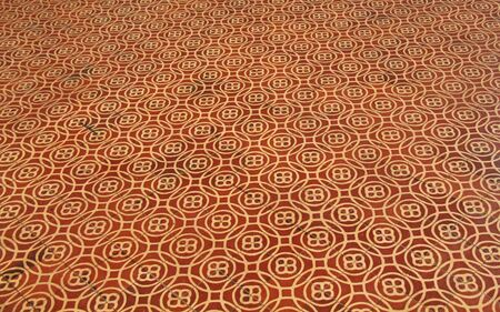ceramic floor: The Symetrical Pattern of Ceramic Floor Tiles.