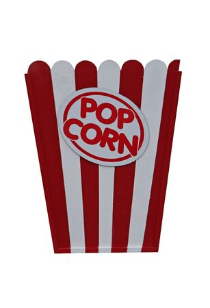 wall mounted: A Wall Mounted Wooden Advertising Sign for Popcorn.