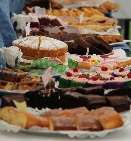cake: Una pantalla de Fresh Homemade Cakes en Venta.