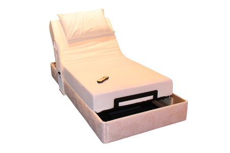 A Remote Control Adjustable Motorised Domestic Bed. Reklamní fotografie