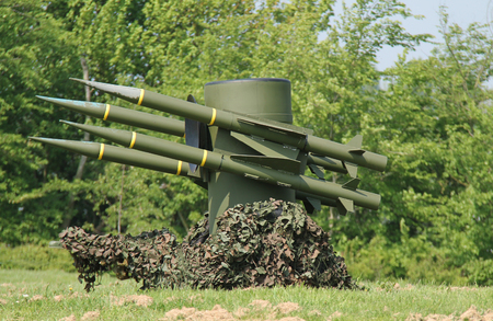 A Mobile Ground to Air Anti Aircraft Missile System.