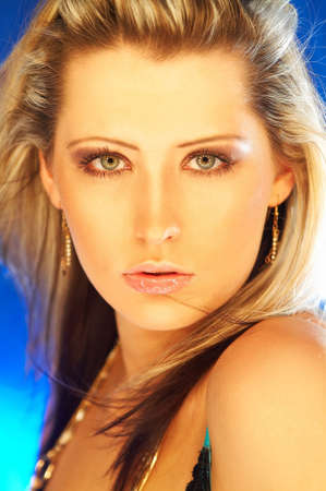 Portrait of beautiful young sexy woman Stock Photo - 341364