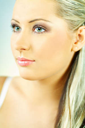 Portrait of attractive beautiful young woman Stock Photo - 349965