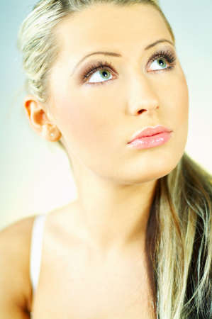 Portrait of attractive beautiful young woman Stock Photo - 349972