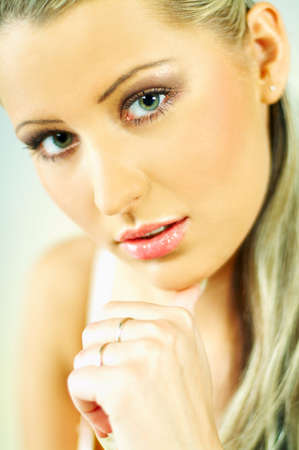 Portrait of attractive beautiful young woman Stock Photo - 349964