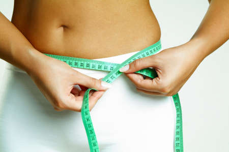 Woman body is being measured Stock Photo - 473154