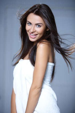 Portrait of beautiful and sexy young woman Stock Photo - 7366128