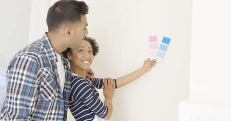 dilema: Young couple choosing a paint color