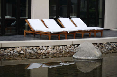 loungers: Spa lounge