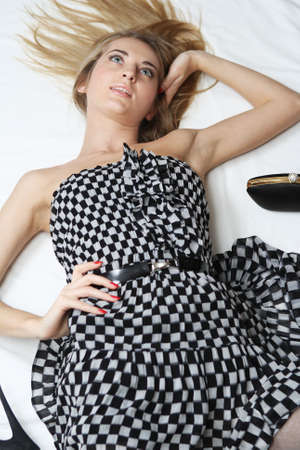 Checkered Dress Stock Photo - 6108343