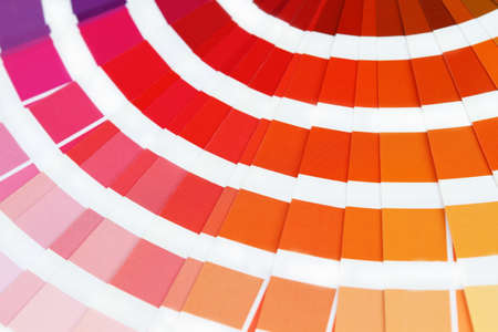 Pantone sample colors catalogue Stock Photo - 7667980