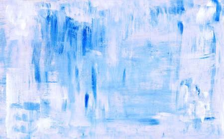 acryl: Blue abstract acryl painting background. Grunge pattern Stock Photo