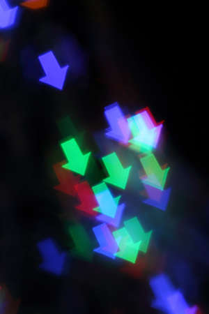 Blurred background with lmulticolor ights Stock Photo - 9773352