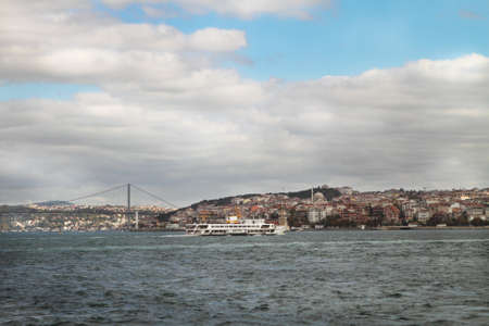 Istanbul view . Turkey travel architecture background photo