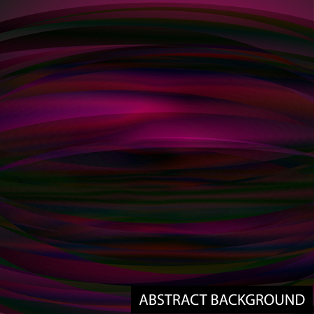 Unusual abstract background. The iridescent color. Waves. For your design Illustration
