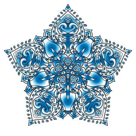 Mandala. Beautiful ornament. Vintage pattern. For your design.