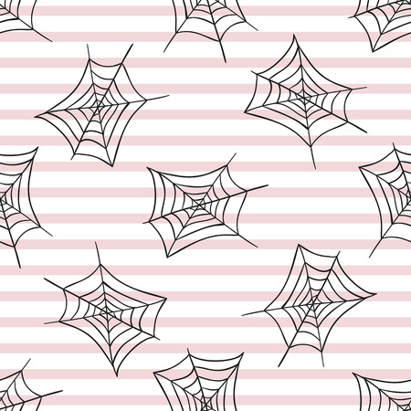 Spiderweb. Seamless pattern. Halloween. Celebration. The day of the Dead. For your design