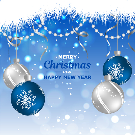 New Year. 2019. Christmas. Christmas decorations. Background. Bright colorful design. Shine Bokeh. For your design. Standard-Bild - 127339158