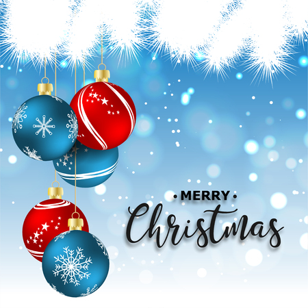 New Year. 2019. Christmas. Christmas decorations. Background. Bright colorful design. Shine Bokeh. For your design. Standard-Bild - 127351875