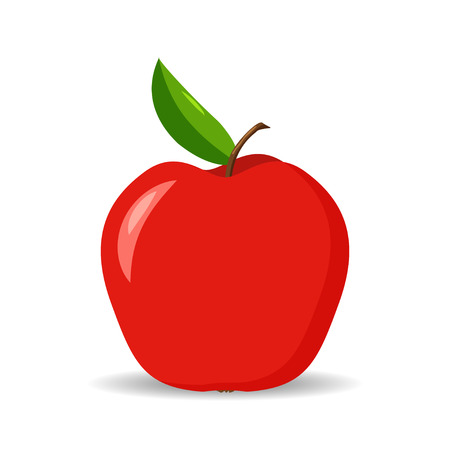 Apple. Fruit. Symbol of health. Training. Bright. For your design.