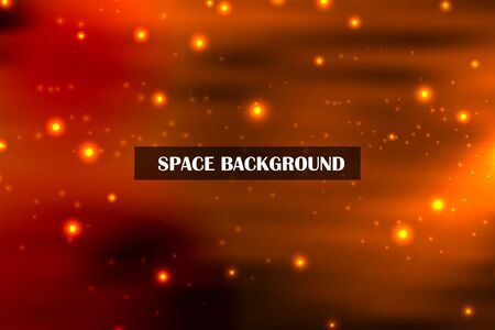 Modern abstract background. Space. Stars in the sky. Shine. For your design.