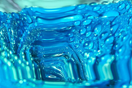 cool backgrounds: Nice blue abstraction with big water drops