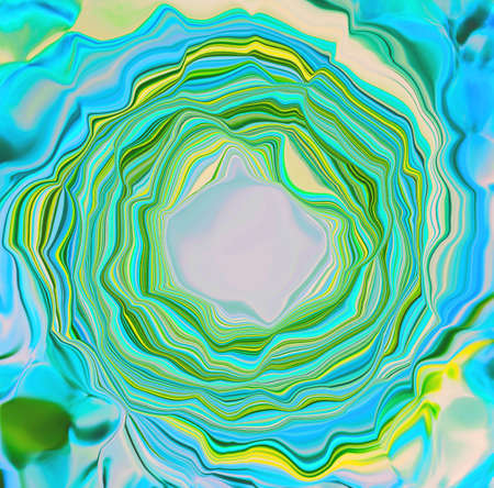 Multicolored waves of abstraction with light hole