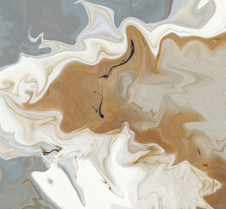 Abstraction in beige and gray in creative variation idea Stock Photo
