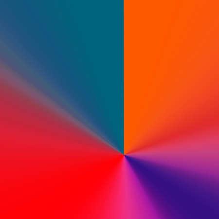 Original creative multicolor geometric abstraction for fantasy ideas