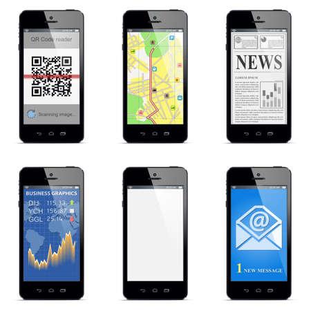 smartphone concept Stock Vector - 21016345