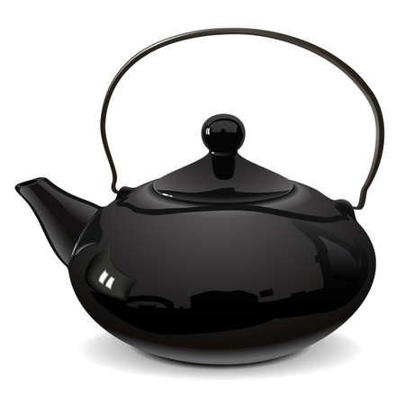 harmonious: teapot Illustration