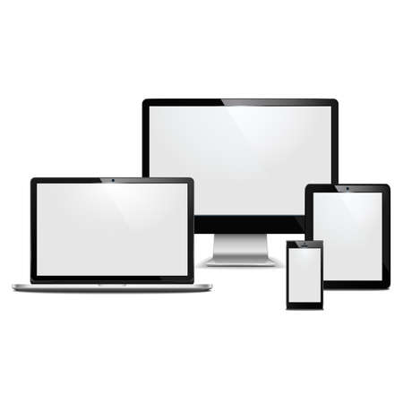 computer devices Stock Vector - 21016249