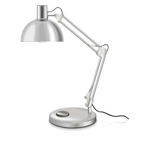 halogen lighting: table-lamp Illustration