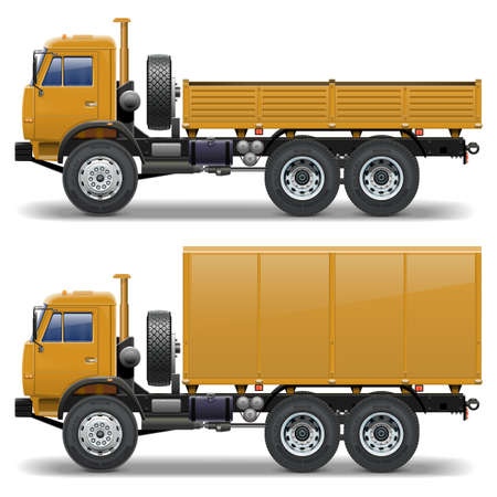 chassis: Vector trucks set 1