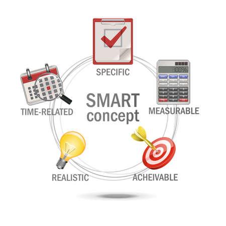 Vector SMART Concept Stock Vector - 21871707